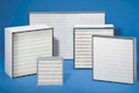 Filters for air-condition and ventilation systems and HEPA filters